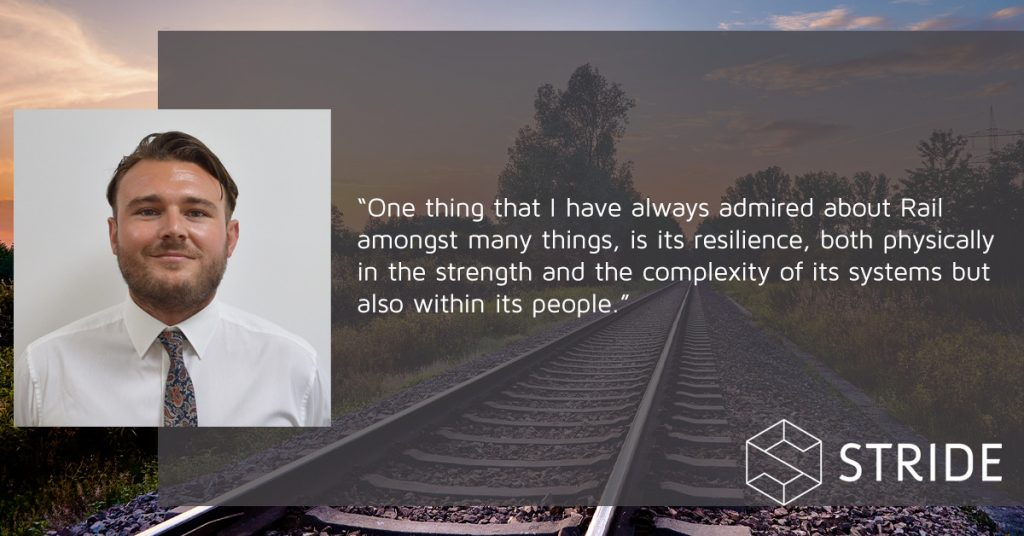 Lewis Salter - one thing I have always admired about rail